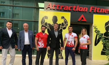 "Tüzmen'den ""Attraction Fitness'e"" tam not"